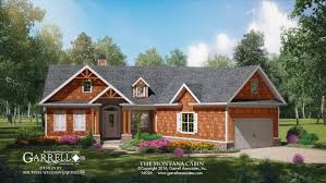 mountain home plans with walkout basement lake cabin house plans with regard to craftsman mountain home