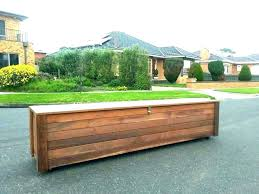 how to build storage bench outdoor