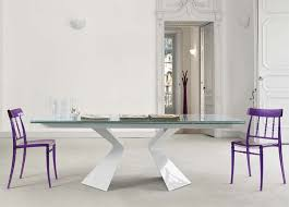 extending glass dining table and chairs bonaldo prora extending dining