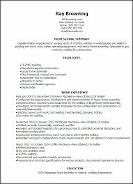 welding welder resumes tig welding resume examples resume resume examples