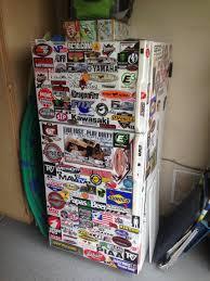 Fridge Stickers Garage Fridge Stickers