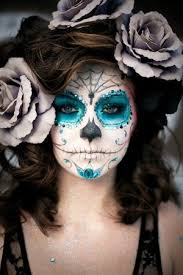 sugar skull makeup how to