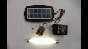 how to make a solar powered 6v emergency light at home
