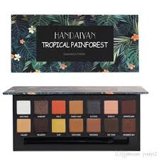 handaiyan new eye shadow high quality pearl matte eye shadow plate makeup plate renaissance tropical painforest eyeshadow rimmel smokey eyes from youyi2