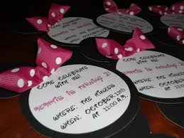 diy mickey mouse birthday invitations