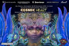 the sf pre party of mayan heart festival cosmic convergence