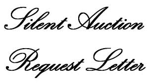 silent auction request letter