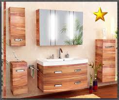Badezimmer Bambus Planen Von Badmöbel Set Braun