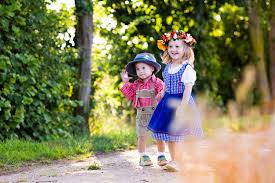 Traditional German Clothes for Kids and Babies for German Festivals!