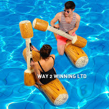pool toys. Brilliant Toys 4 PiecesSet Joust Swimming Pool Float Game Toys Rideon Inflatable Water  Sport To