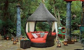 bed outdoor cabana beds for round