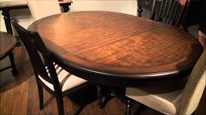 williamsport round oval pedestal dining table by riverside furniture home gallery s you