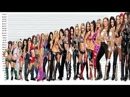 Female Wrestlers Height Comparison Chart All Female Stars From Short To Tallest Video Wiith Music