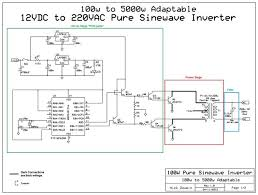 true sine wave inverter circuit diagram ireleast info adaptable 12vdc 220vac pure sinewave inverter 0 steps wiring circuit