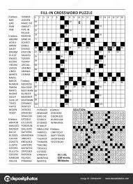 blank crossword puzzle grids printable fill blanks crossword puzzle american style grid 23x23 size blocks