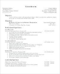 Preschool Teacher Resume Objective Examples Objective Teacher Resume