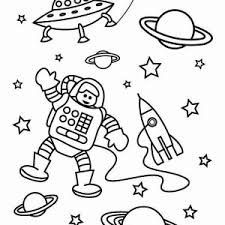 Small Picture Two Astronauts are Ready for Space Mission Coloring Page Two