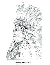 Printable Native American Coloring Pages Predragterziccom