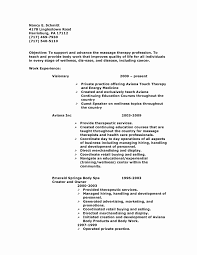 Physical Therapy Resume Examples Awesome Sample Resume For Entry