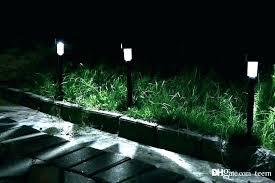 garden hose solar e lights outdoor quality light lawn grow led set of 4 qvc lighting