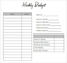 Simple Budget Template Monthly Budget Template Simple