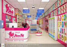 Thiết kế shop mẹ và bé Jim Tồ - Cơ sở 2 - Thanh Hóa