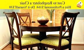 18 new dining chair recovering cost chairs wallpaper slipcover room making seat covers for u