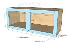 Making A Wall Cabinet Ana White 30 X 12 Above Range Wall Cabinet Momplex Vanilla