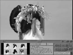 蒔絵万年筆資料のマルチ アングル画像撮影ならびに 展開図作成のための