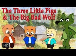 the three little pigs and big bad wolf hd animated fairy tales for children full story you