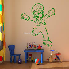 Mario Bedroom Decor Nintendo Wall Stickers All About Wall Stickers