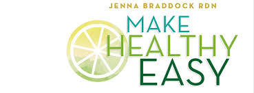 Image result for jenna braddock make healthy easy logo
