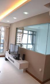 Living Room Tv Console Design Contemporary Oriental Design In Hdb 4 Room Type In Sengkang