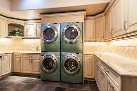 Laundry Room In Kitchen Youre Not Seeing Double Multiple Washers And Dryers And Even