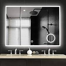Wall mounted bathroom mirror Makeup Neutype Large Led Mirrors Wall Mounted Bathroom Mirrors Dimmable Lighting Mirror With Builtin Circular Aliexpress Amazoncom Neutype Large Led Mirrors Wall Mounted Bathroom Mirrors