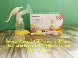 Review Pompa Asi Harmony Manual Pump Purelan 100 Nipple Cream