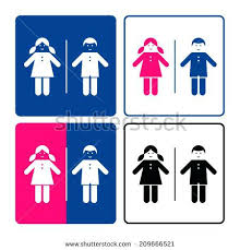 boys and girls bathroom signs. Boy And Girl Bathroom Sign Kids Restroom Symbol . Boys Girls Signs