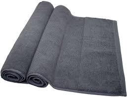 Amazon.com: Ivy Rice Effect%100 Turkish Cotton Quick Dry & Luxury 2 Piece  Bath Mat Towel Set: Home & Kitchen