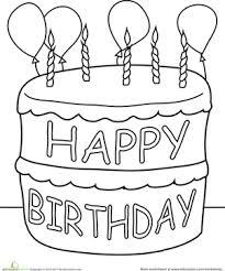 Happy birthday happy birthday birthday coloring card happy 3rd birthday happy birthday coloring card birthday coloring card birthday coloring card. Happy Birthday Coloring Pages Education Com
