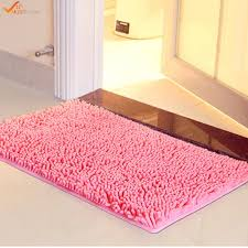 best 40 60cm microfiber chenille bathroom rugs carpet non slip shower soft plush absorbent bath mat rug for bathroom under 21 07 dhgate com