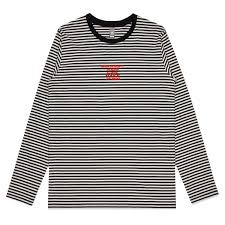 midwest kids <b>embroidered stripe long sleeve</b> + digital album