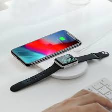 <b>Baseus 2</b> in <b>1</b> Wireless Charger for iPhone and iWatch   Digital 3 Bali