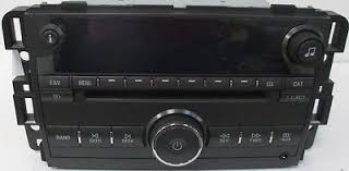 hhr cd mp3 xm ready us8 radio oem factory gm delco stereo lucerne cd mp3 usb xm rdy radio oem factory gm delco buick stereo 20989684