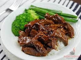 slow cooker teriyaki beef slow