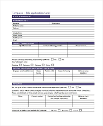 Free 50 Application Forms Format Pdf