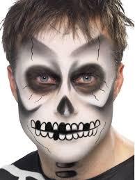 skeleton face paint black white fx makeup kit instructions kids ebay
