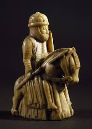 Knight, chess piece, ivory. Northern Europe, 13th century. <b>Florence</b> ...