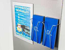 Acrylic Flyer Display Stand Custom Poster Brochure Display For Megabus Brochures Custom 73