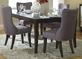 dark wood dining room chairs. Unbelievable The Collection Of Adorable Dark Wooden Black For Pics Modern Upholstered Dining Room Chairs And Wood T