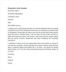 Resignation Letter From Work Download Resignation Letter Resignation